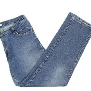 Levis 550 Relaxed Medium Wash Straight Leg Jeans